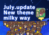 "[NEO Mushroom Garden]New theme ""Milky Way"" is Added! Ver.2.19.0 Update! イメージ"